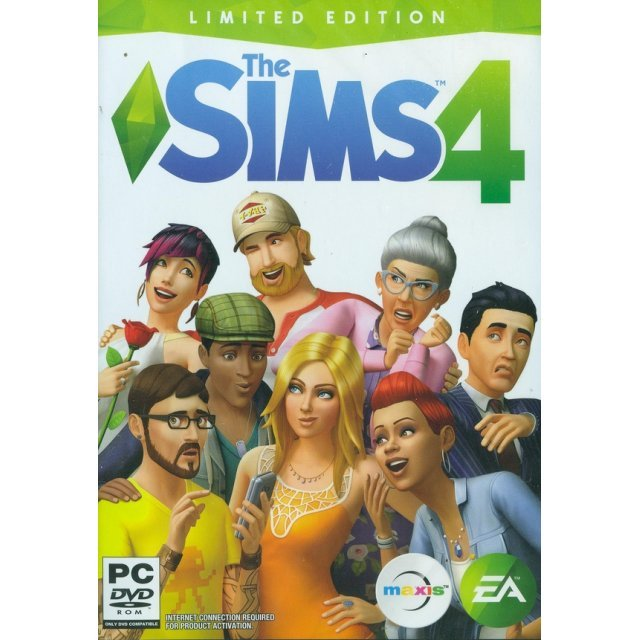 The Sims 4 (Limited Edition) (DVD-ROM) (English)