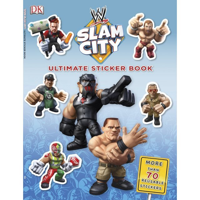 Ultimate Sticker Book: WWE Slam City (Paperback)