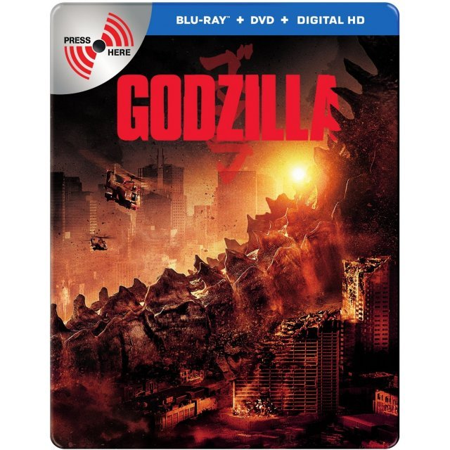 Godzilla (Limited Edition) [Blu-ray+DVD+Digital HD]