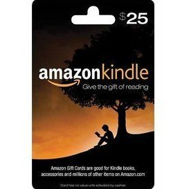 Amazon Kindle Gift Card (US$ 25)