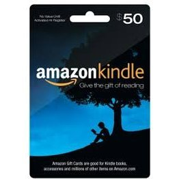 Amazon Kindle Gift Card (US$ 50)
