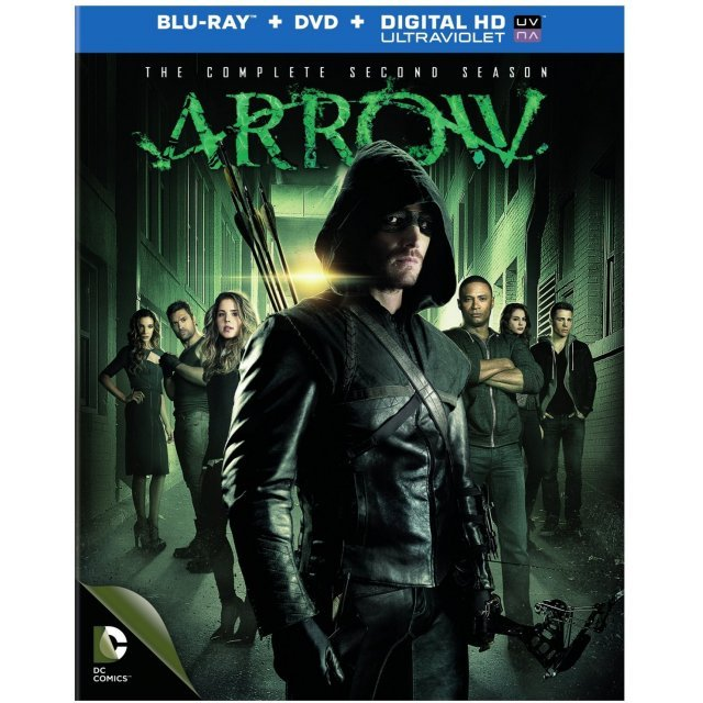 Arrow: The Complete Second Season [Blu-ray+DVD+UltraViolet]
