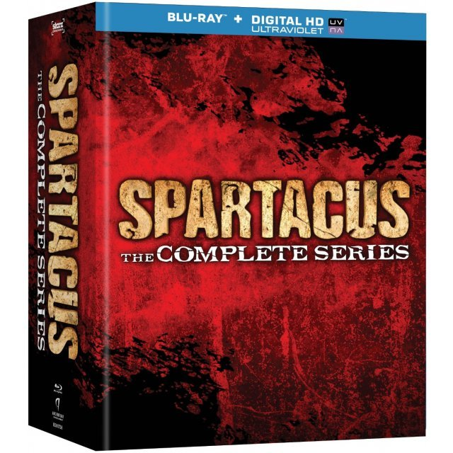 Spartacus: The Complete Series [Blu-ray+Digital Copy+UltraViolet]