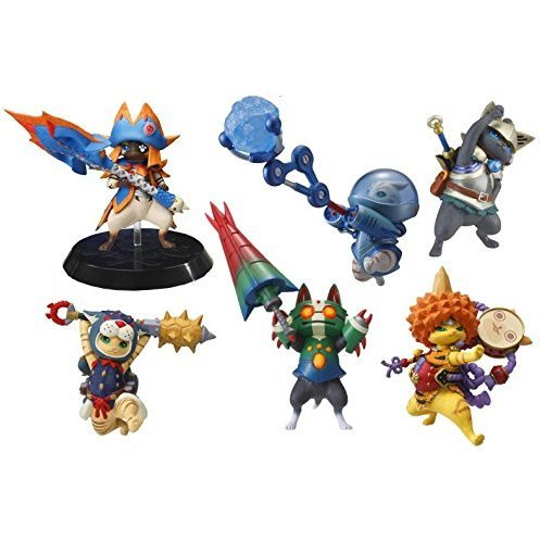 Capcom Figure Builder Standard Model Monster Hunter: Otomo Airou Vol. 3 (Random Single)