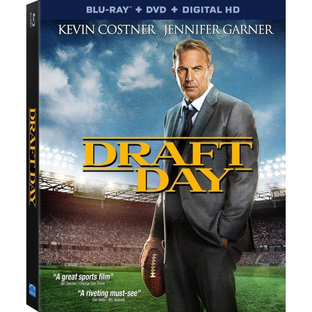 Draft Day [Blu-ray+DVD+Digital HD+UltraViolet]