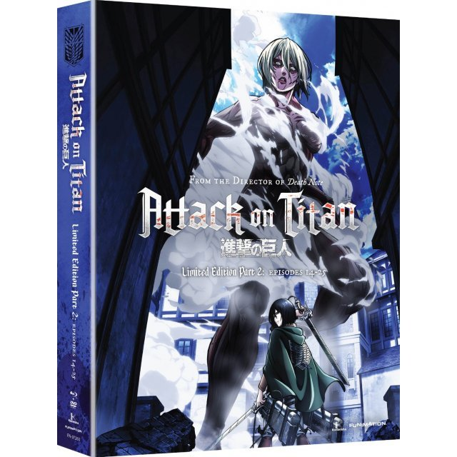 Attack on Titan Part 2 (Limited Edition) [Blu-ray+DVD]
