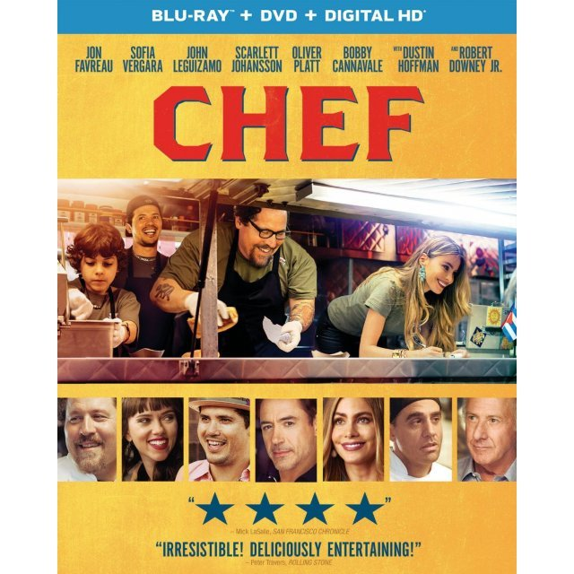 Chef [Blu-ray+DVD+Digital Copy+UltraViolet]
