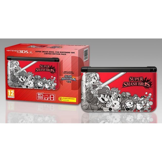 Nintendo 3DS XL Super Smash Bros. Edition (Red)