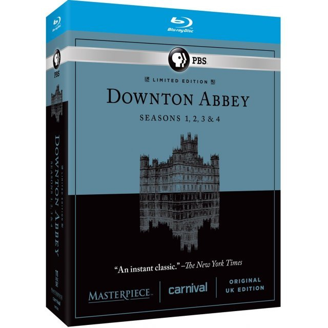 Downton Abbey Seasons 1, 2, 3 & 4 (Limited Edition)