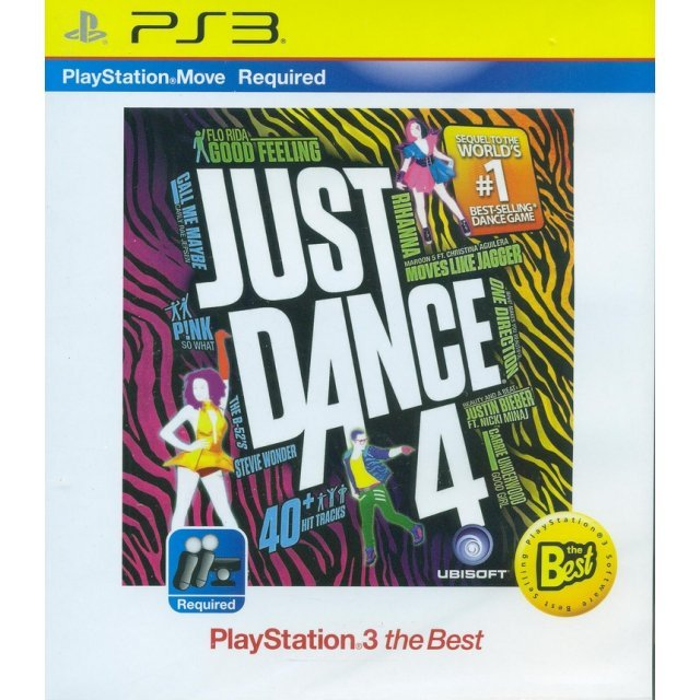 Just Dance 4 (Playstation 3 the Best) (English)