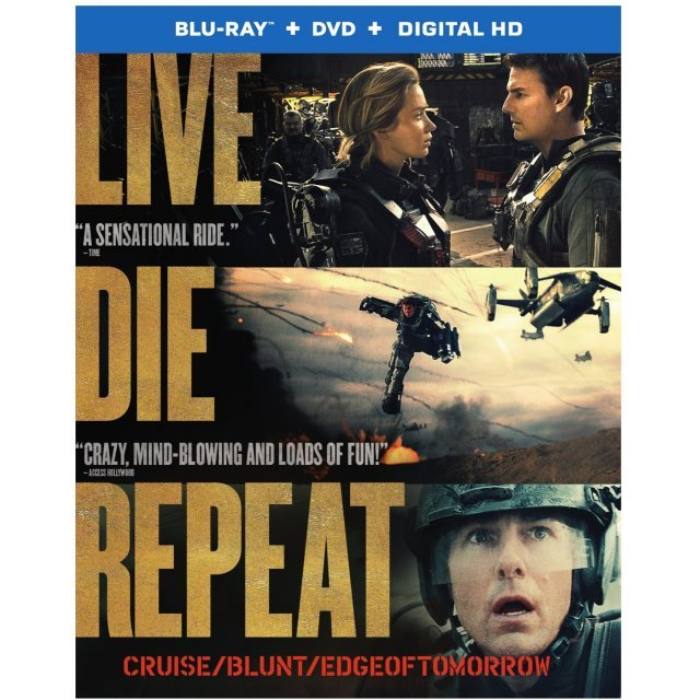 Edge of Tomorrow [Blu-ray+DVD+UltraViolet]