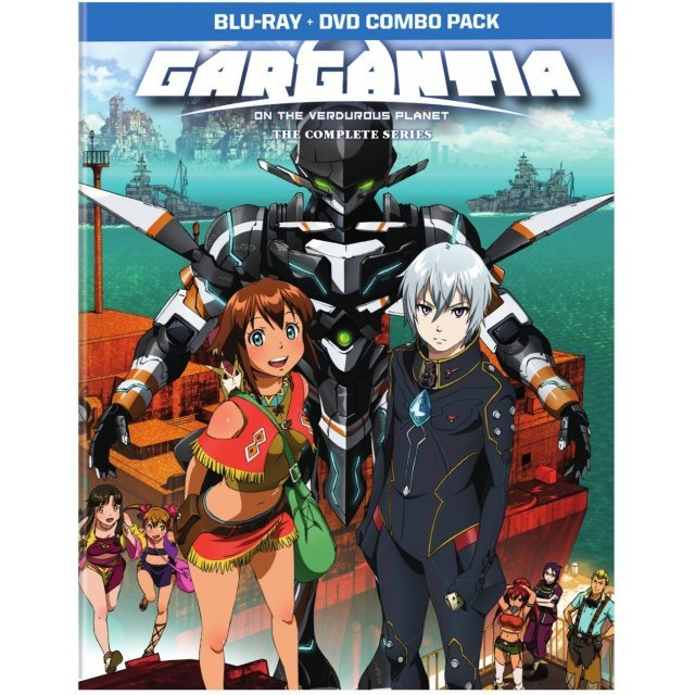 Gargantia: The Complete Series (Limited Edition)  [Blu-ray+DVD]