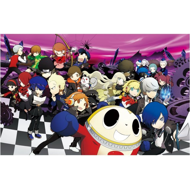 Persona Q: Shadow of the Labyrinth Official Visual Material