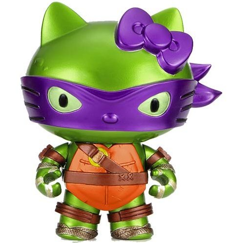 Teenage Mutant Ninja Turtles Hello Kitty: Mutant Kitty Donatello