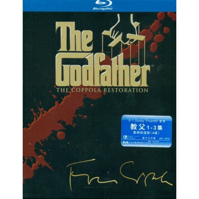 The Godfather Re-mastered Trilogy [4Blu-ray Boxset]