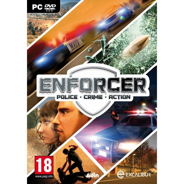 Enforcer: Police Crime Action (DVD-ROM)
