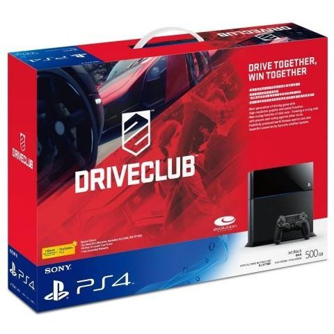 PlayStation 4 System - Driveclub Bundle Set (Jet Black)