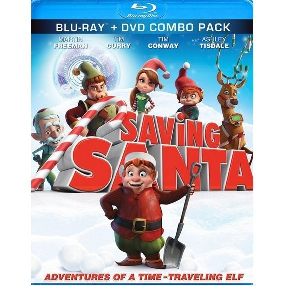 Saving Santa [Blu-ray+DVD]