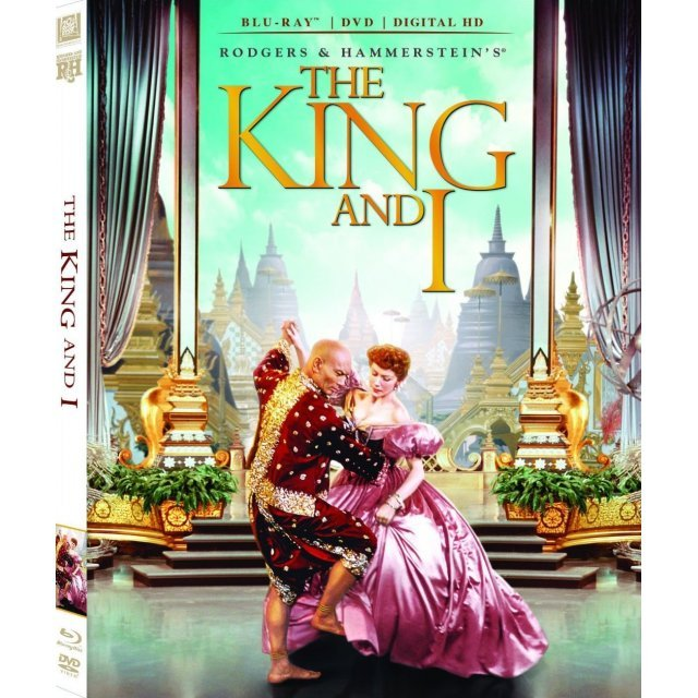 The King and I [Blu-ray+DVD+Digital Copy+UltraViolet]