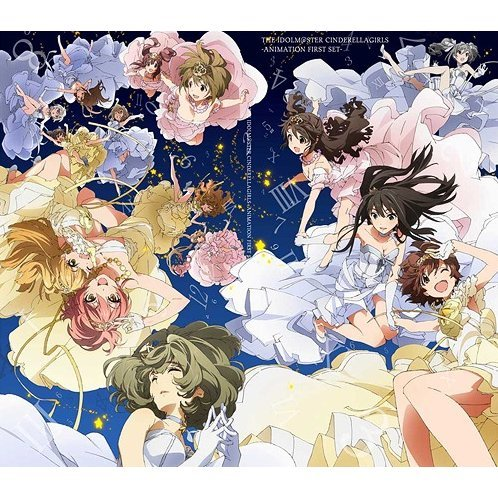 Idolmaster Cinderella Girls - Animation First Set [DVD+CD Limited Edition]