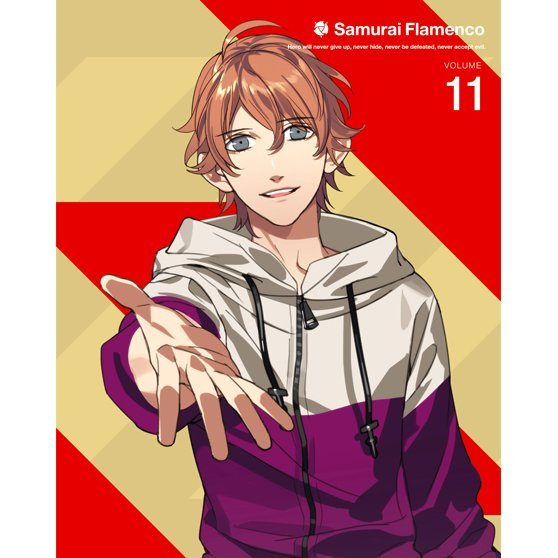 Samurai Flamenco Vol.11 [Blu-ray+DVD Limited Edition]