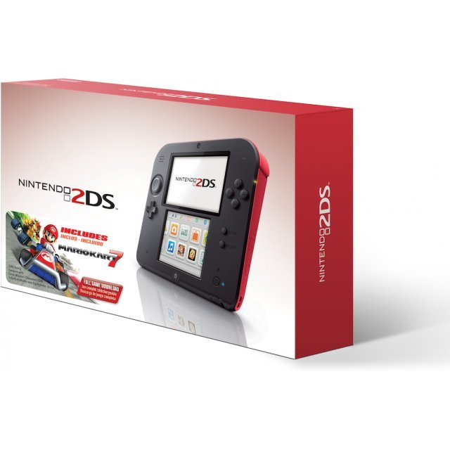 Nintendo 2DS with Mario Kart 7 (Red)