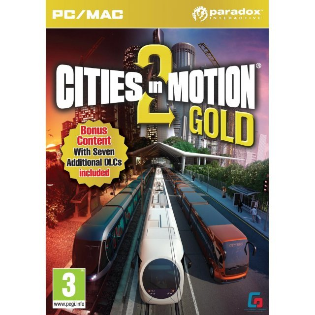 Cities in Motion 2 Gold (DVD-ROM)