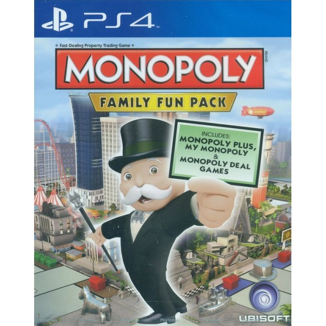 Monopoly: Family Fun Pack (English)