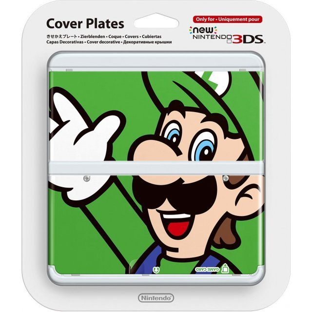 New Nintendo 3DS Cover Plates No.002 (Luigi)