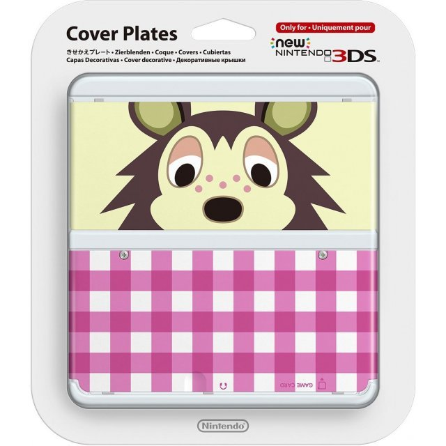 New Nintendo 3DS Cover Plates No.016 (Animal Crossing Asami)