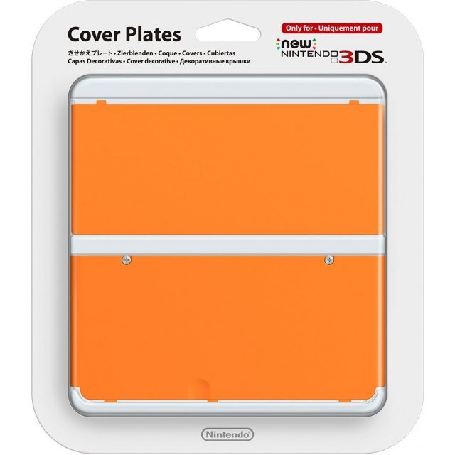 New Nintendo 3DS Cover Plates No.033 (Orange)