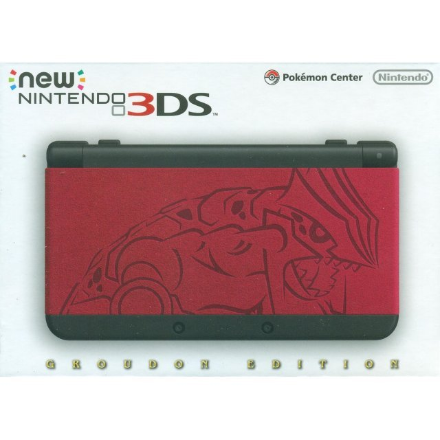 New Nintendo 3DS [Groudon Edition]