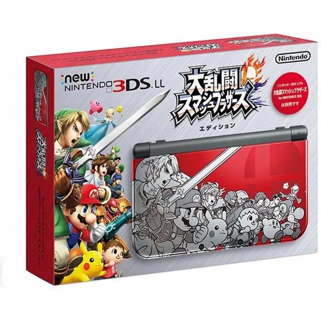 New Nintendo 3DS LL [Dairantou Smash Brothers for Nintendo 3DS Design]
