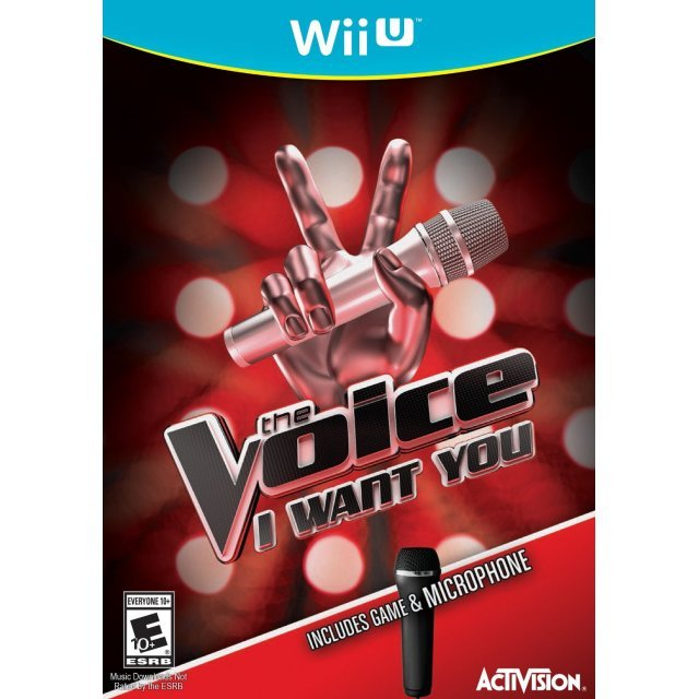 The Voice: I Want You (with Microphone)
