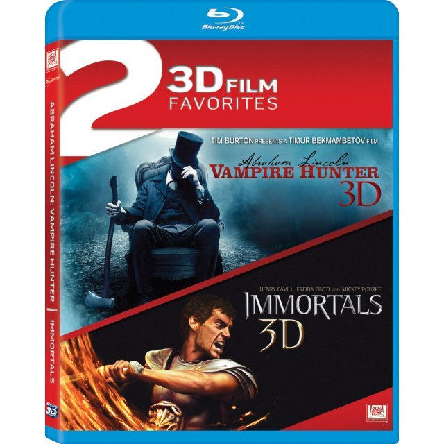 2 3D Film Favorites - Abraham Lincoln: Vampire Hunter / Immortals