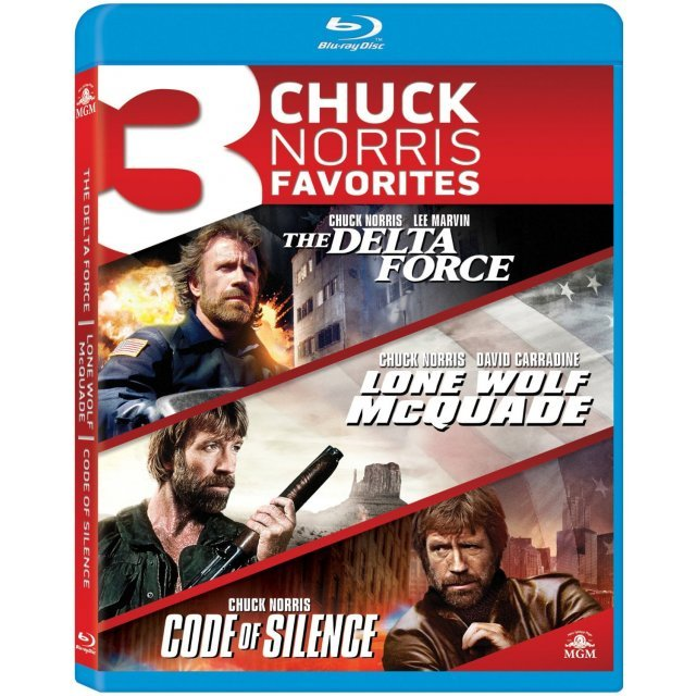 Chuck Norris Favorites Triple Feature