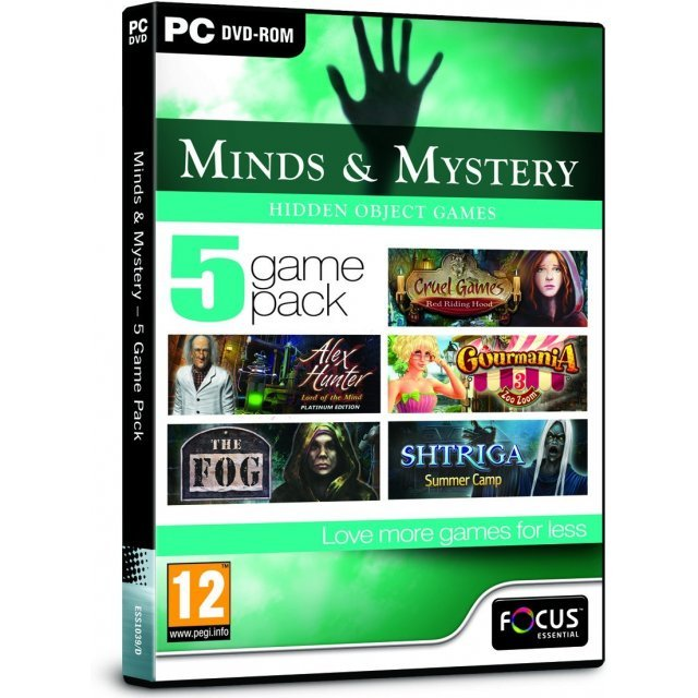 Minds and Mystery - 5 Game Pack (DVD-ROM)