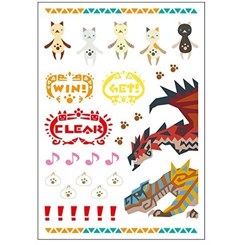 Monster Hunter 4G Decoration Seal: Monnyantai