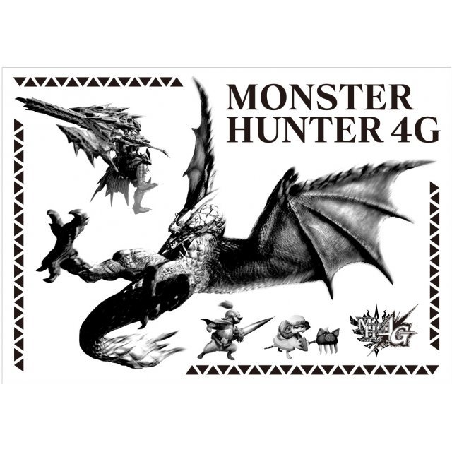 Monster Hunter 4G Wall Decoration Seal: Seruregiosu