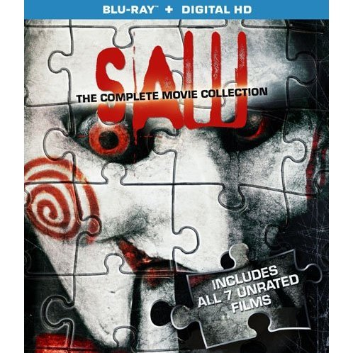 Saw: The Complete Movie Collection [Blu-ray+Digital HD]