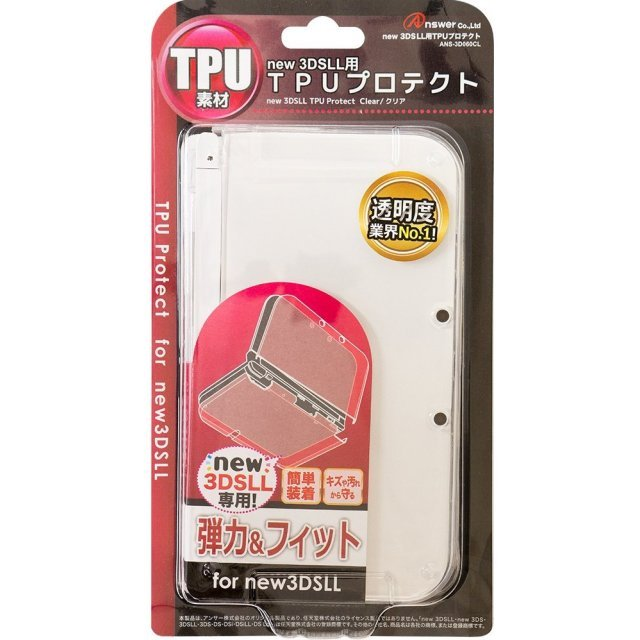 TPU Protector for New 3DS LL (Clear)