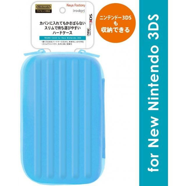 Trunk Case for New 3DS (Blue)