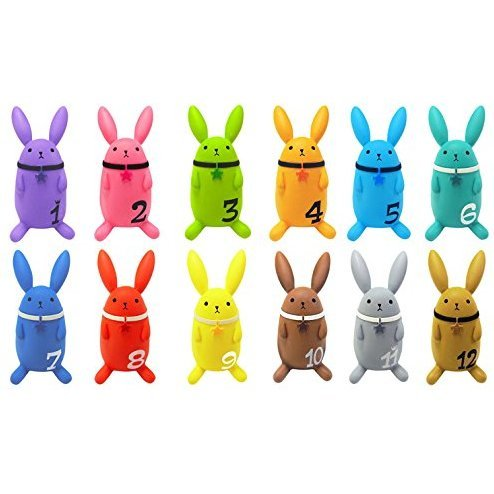 Color Collection Tsukiuta: UsaColle (Set of 12 pieces)