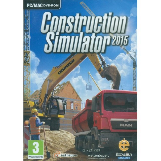 Construction Simulator 2015 (DVD-ROM)