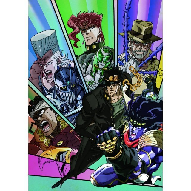 JoJo's Bizarre Adventure The Animation [Calendar 2015]