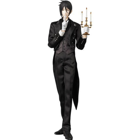 Real Action Heroes No. 689 Black Butler Book of Circus: Sebastian Michaelis