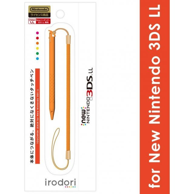 Touch Pen Leash for New 3DS LL (Orange)