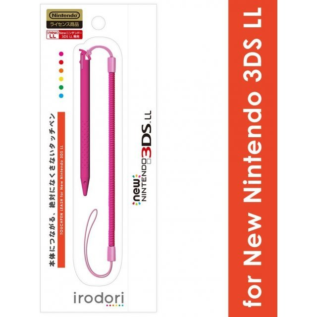 Touch Pen Leash for New 3DS LL (Pink)