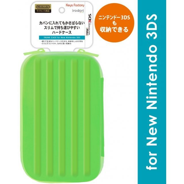 Trunk Case for New 3DS (Green)