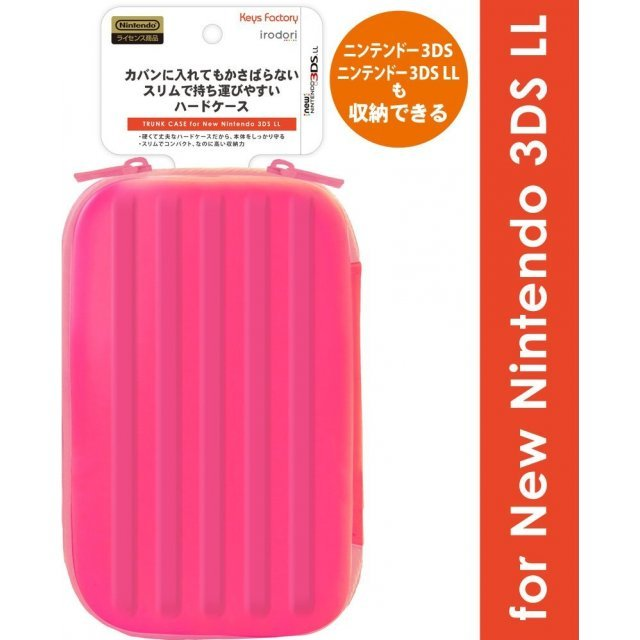 Trunk Case for New 3DS LL (Pink)